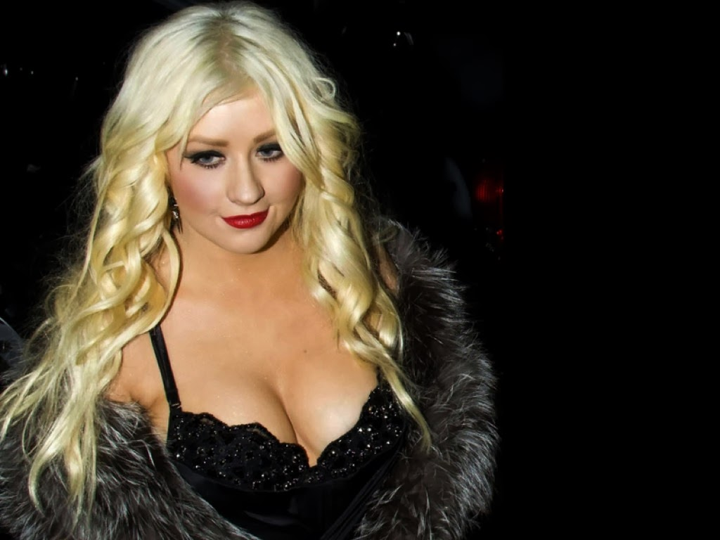 Celebrity Hd Wallpapers Christina Aguilera Sexy Hd Wallpapers-3127