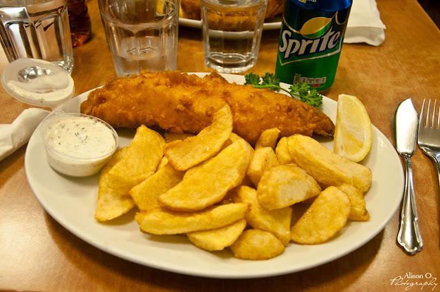 citytrip Londres London Fish Chips Rock Sole plaice