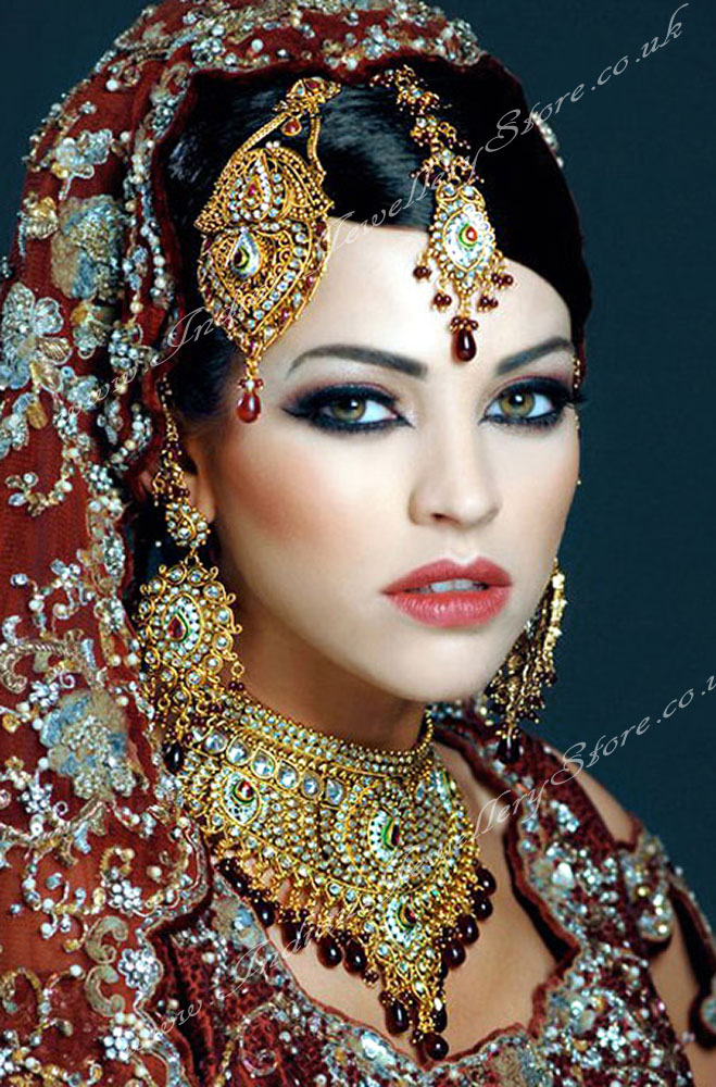 Indian Bridal Jewelry Sets | Fashion in New Look |Indian Bridal Jewellery