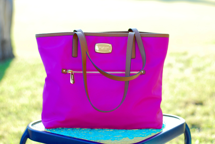 Hall Around Texas Michael Kors Tote