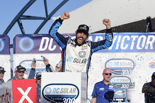 #NASCAR Ross Chastain - LVMS The Winner Maker