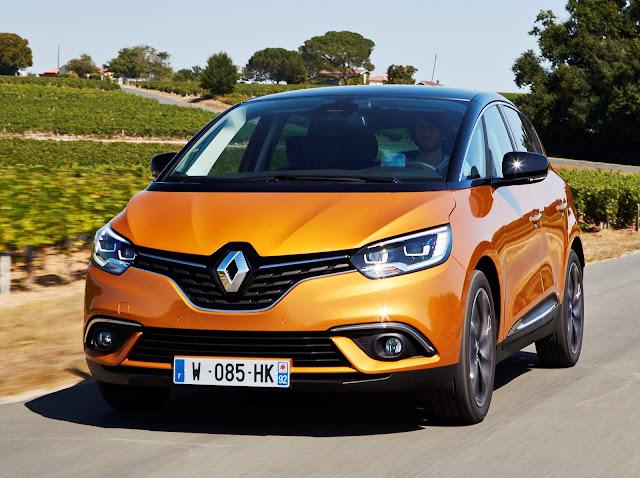Novo Renault Scenic 2017