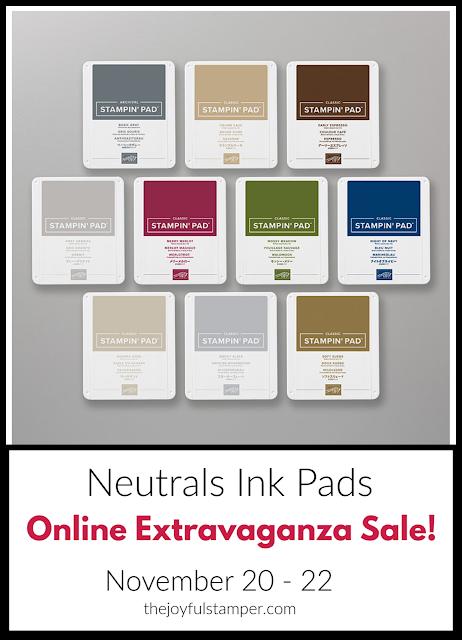 Neutrals ink pads - Online Extravaganza