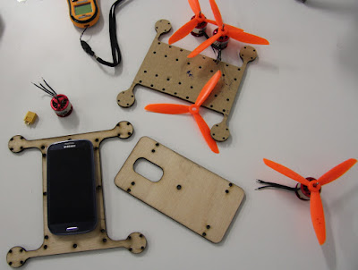 Flone si Drone ber Smartphone - GudangDrone