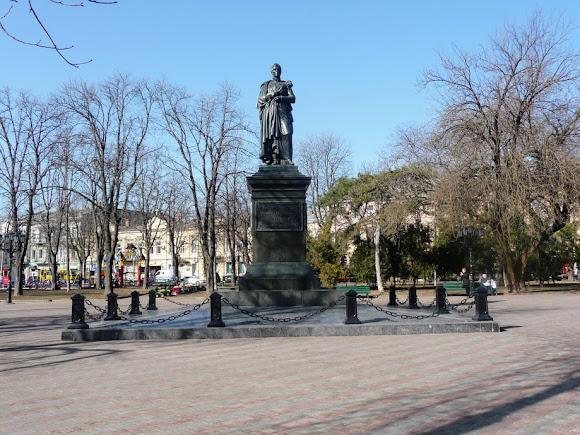 Одеса. Пам'ятник С. М. Воронцову