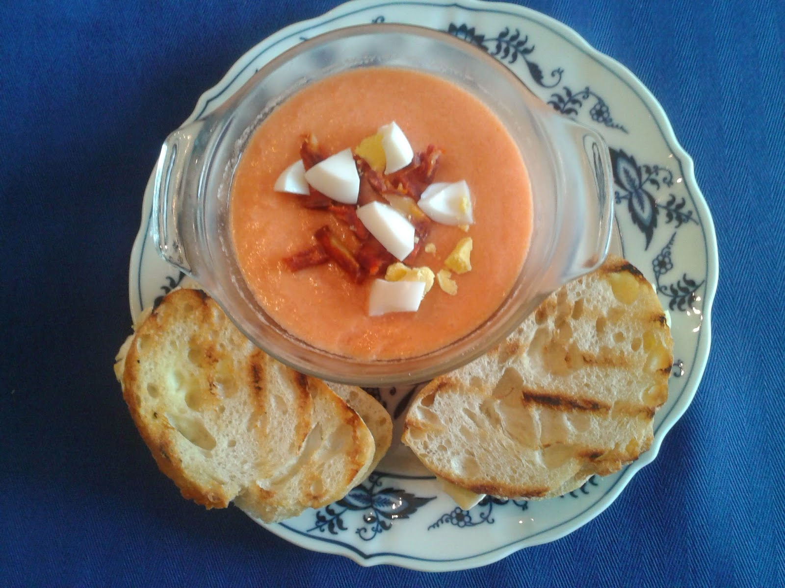 Marvelous Summer Is Coming!: Awesome Recipe For Cold Tomato Soup U0026 Grilled Brie  Sandwiches