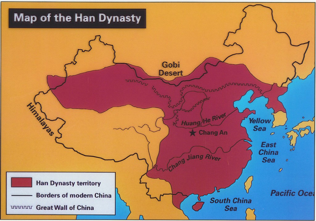 Modern Day China Map.Han Dynasty Catherine Map Of The Han Dynasty