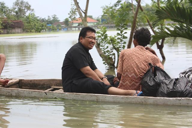 Cara Bojonegoro berkawan dengan bencana
