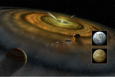 The nebular hypothesis for the formation of the solar system was run through a computer model. The hypothesis still fails.
