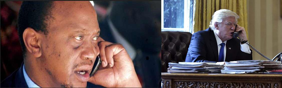 Uhuru Trump phonecall | Daily Updates