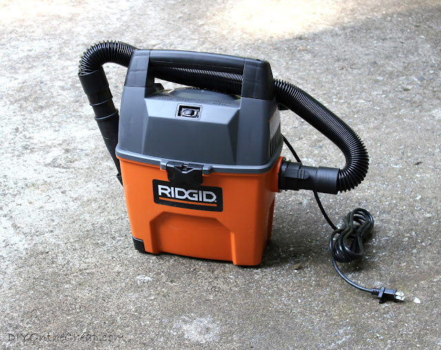 RIDGID Wet/Dry Vac - every DIY-lover's necessity.
