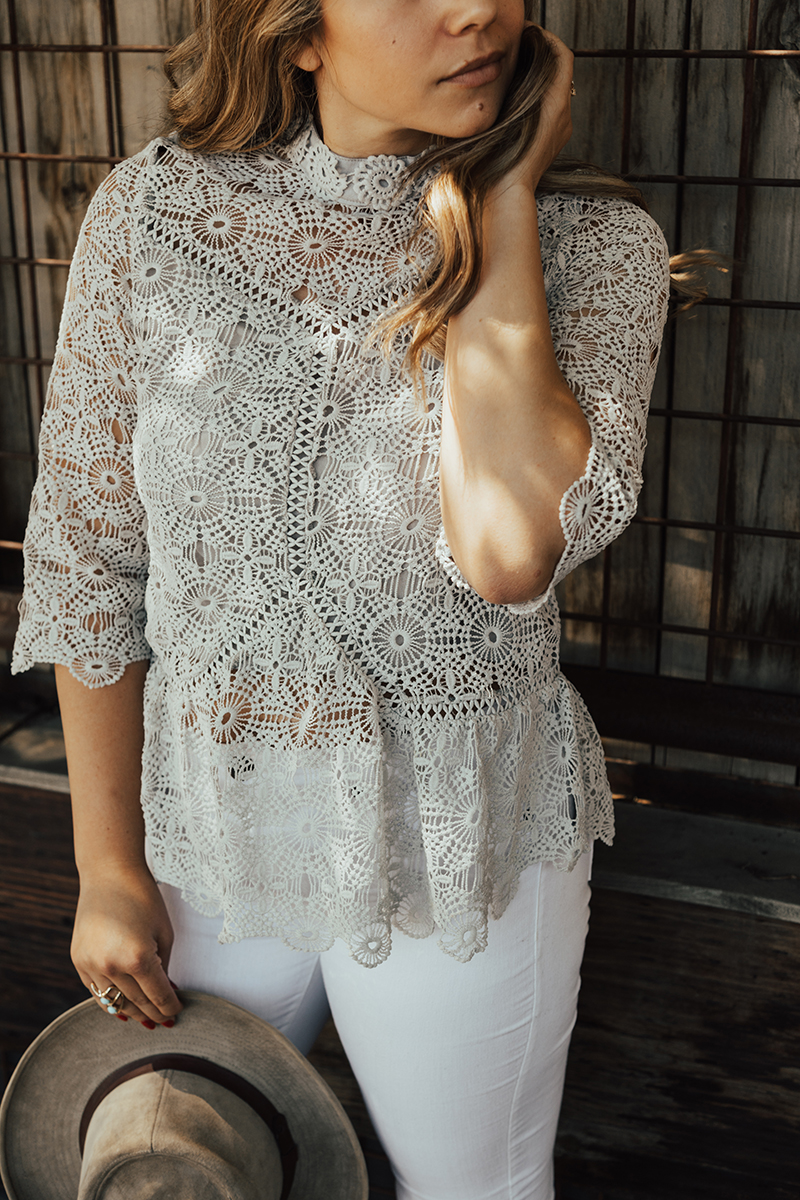 chicwish blouse, chicwish review, crochet top