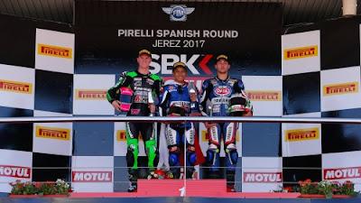 Galang Hendra Juara WSSP300 di Jerez Spanyol