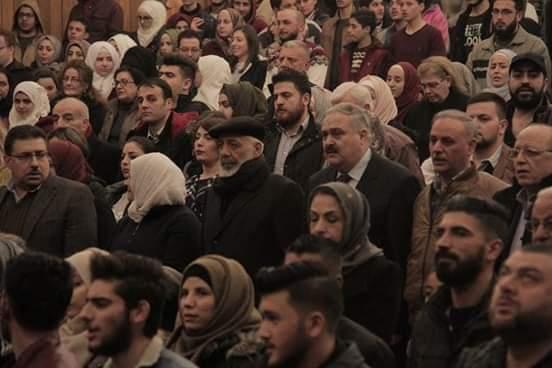 أمينة   في مدينة حماة بحضور جاوز  الألف  مشاهد