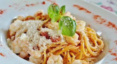 Pasta with Pancetta and Pecorino