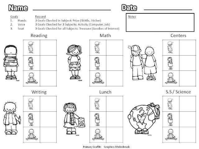 "Search Results for ""Primary Grade Behavior Calendar"
