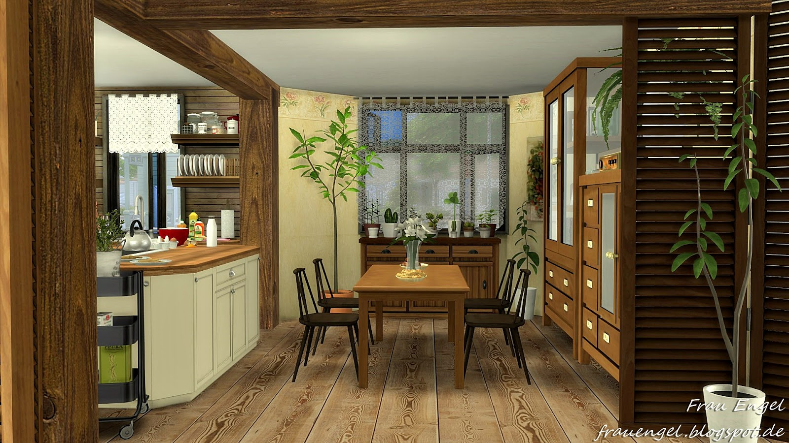 sims 4 cc's - the best: grandma's house by frau engel, Badezimmer ideen