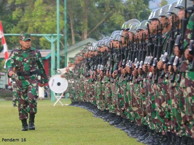 Kodam Pattimura Gelar Lomba Binsat Peleton Tangkas 2018