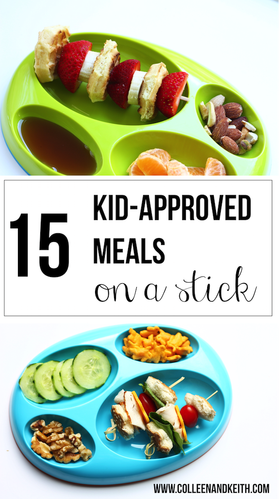 15 Kid-Approved Meals on a Stick from Meet the Sullivans