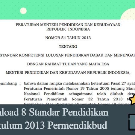 8 Standar Nasional Pendidikan Pdf