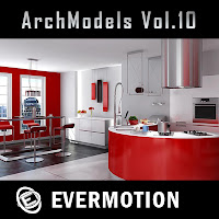 Evermotion Archmodels vol.10單體3dsMax模型合集第10期下載
