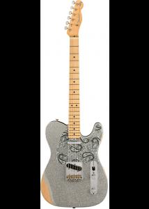 Harga Gitar Fender Brad Paisley Road Worn Telecaster Silver Sparkle dengan Review dan Spesifikasi Januari 2018