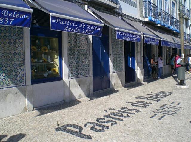 Pasteleria de Belém em Lisboa