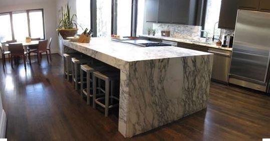 Artinox acero inoxidable for Mesas de marmol para cocina