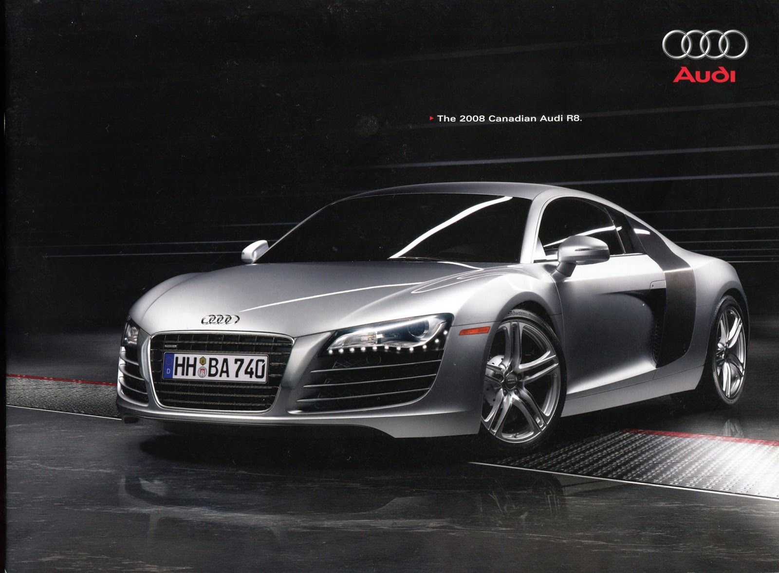 This Is What You Got If You Managed To Shake One Loose From A Canadian Audi  Dealer, A Nice But Slim 8 Page Job Showing 3 Color Pics And A Bunch Of  Small ...