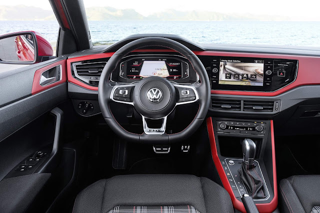 VW Polo GTI 2018 - interior