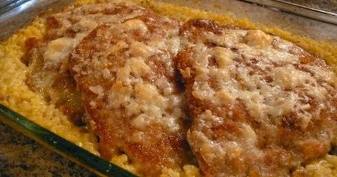 Best Recipes In World Parmesan Crusted Pork Chop Casserole