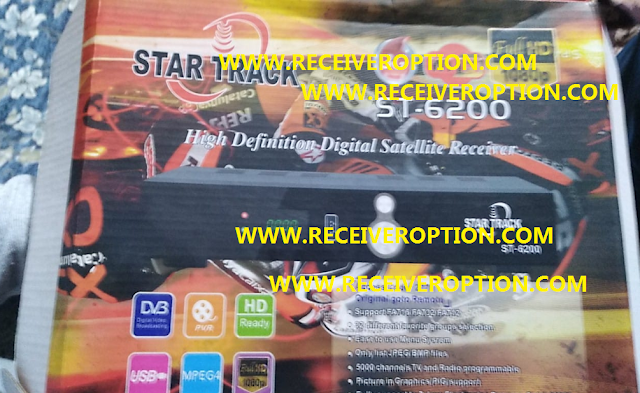 STAR TRACK ST-6200 HD RECEIVER AUTO ROLL POWERVU KEY NEW SOFTWARE BY USB