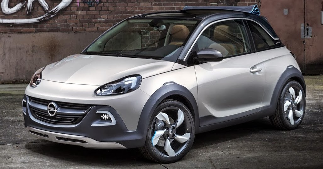 opel adam rocks concept wallpapers  cars bikes overviews