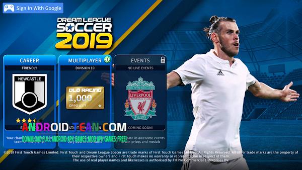Dream League Soccer 2019 Mod Liverpool FC Apk Mod Data [Unlimited Money]
