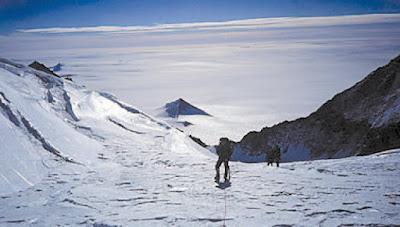Pirâmides encontradas na Antártida