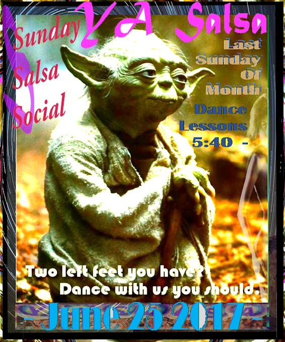 YA Salsa Sunday Social 2017.06.25 --
