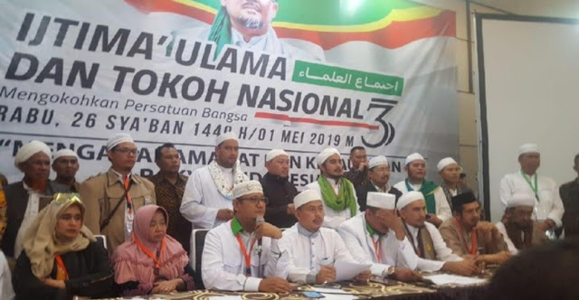 Ijtimak Ulama III Dipimpin Yusuf Martak Hingga Bachtiar Nasir, Hasilnya Itu-itu Saja