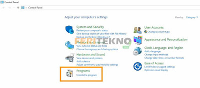 cara uninstall software di pc laptop 3