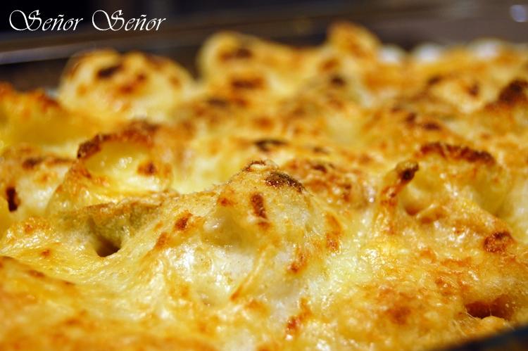 Coliflor Gratinada Con Pasta A La Mostaza Un Toque