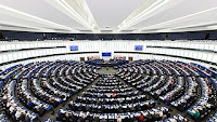 EU-parlamentet Strassbourg, bilde.