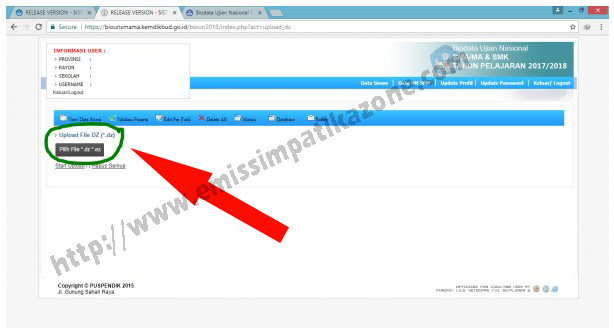 Begini Cara Upload File EZ Ke BioUN
