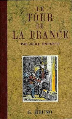 """""""Le tour de France par deux enfants"""", Mme Fouillé (pseudonyme  Giordano Bruno, brûlé par l'inquisition en 1600), édition 2012 (collection musée)"""