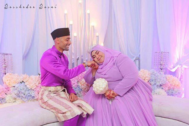 Pernikahan Aiffa Syakirin Abd Majid dan Badr Kebdani
