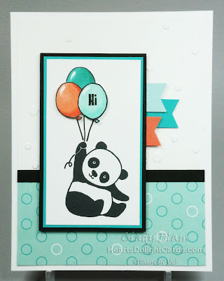 Party Pandas, Stampin' Up!