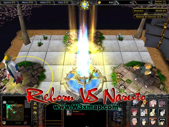 Reborn VS Naruto v1 5