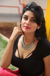 Telugu Actress Harini Stills at Dhyavudaa Movie Teaser Launch  0243.JPG