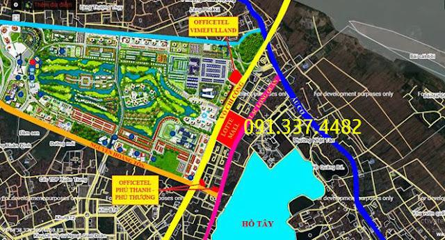 Dự án căn hộ Officetel Vimefulland Ciputra Võ Chí Công Nhật Tân Tây Hồ