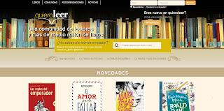 Quiero Leer, Una Red Social para Lectores y Amantes de la Lectura