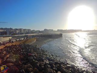Vista de la playa Casablanca
