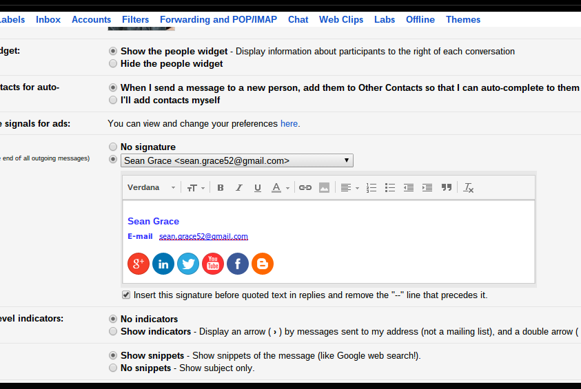 how to make html appear like newsletter gmial